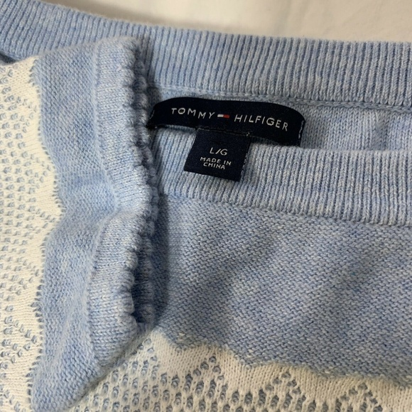Tommy Hilfiger Sweaters - Tommy Hilfiger Womens Sweater Large Blue